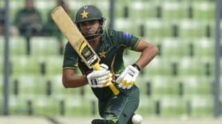Hafeez, Ali complete 50-run opening stand in 3rd ODI at Lahore