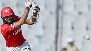 Hashim Amla's 96 powers Kings XI Punjab to 179-4 vs Sunrisers Hyderabad in IPL 2016 at Mohali