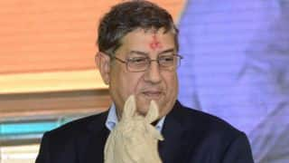 N Srinivasan to respond to Anurag Thakur's letter personally
