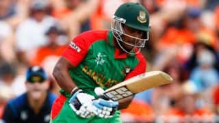 IND vs BAN, quarter-final 2: Imrul Kayes run out for 5 by Ravindra Jadeja