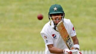 Babar Azam's 81* takes Pakistan to 200-8 at lunch
