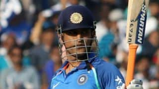 Sourav Ganguly believes MS Dhoni should play at No.4 in ODI