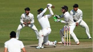 Tiripano, Masvaure help ZIM bounce back against NZ at tea on Day 1