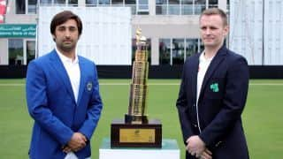 Trophy unveiled for Afghanistan vs Ireland Test in Dehradun