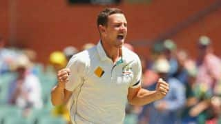 Josh Hazlewood eager to get back to pink ball cricket