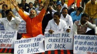 India-Pakistan series to honour Ajmal Kasab: Shiv Sena