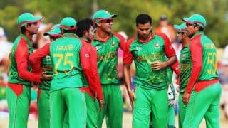Live Cricket Score Bangladesh vs England ICC Cricket World Cup 2015, Pool A Match 33 at Adelaide, England 260/10 in 48.3 Overs: England knocked out of World Cup