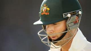 Pakistan A vs Australians: Michael Clarke falls cheaply as tourists wobble
