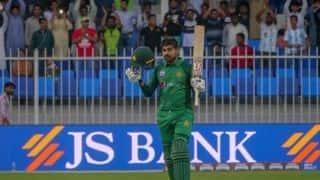 1st ODI: Haris Sohail's maiden hundred lifts Pakistan to 280 against Australia