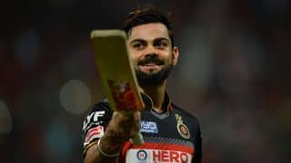Twitter hails Virat Kohli's fourth hundred in IPL 9 at Bengaluru