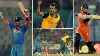 Statistical review of ICC World T20 2014