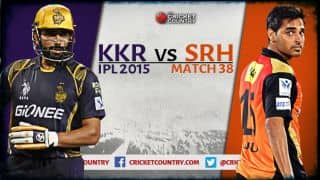Live Cricket Score KKR vs SRH, IPL 2015, Match 38 in Kolkata: SRH 132/9 in 20 overs