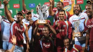 South Africa vs West Indies 2014-15 Live Cricket Score: 1st ODI at Durban