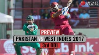 Pakistan vs West Indies 2017, 3rd ODI at Guyana, Preview