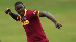 West Indies vs United Arab Emirates (UAE), ICC Cricket World Cup 2015 Pool B match at Napier: Jason Holder's four-wicket-haul and other highlights