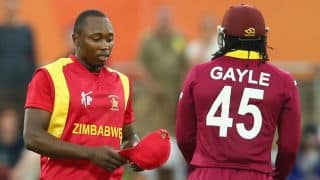 World Cup 2015: Chatara reprimanded by ICC after bowling two beamers at Chris Gayle