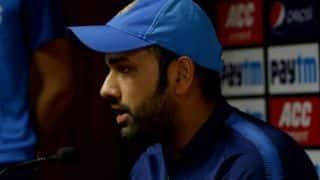 मैंने खिलाड़ियों को याद दिलाया कि हम देश के लिए खेल रहे हैं: रोहित