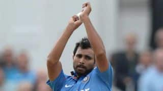 India vs England, 2nd T20I: Hosts wear black armbands in memory of Rajesh Sawant and Mohammed Shami's father