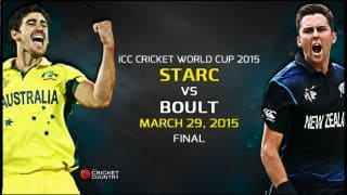 Mitchell Starc vs Trent Boult: Race to be the best bowler in Australia vs New Zealand ICC Cricket World Cup 2015 Final