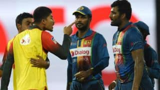 Bangladesh Cricket Board apologizes for player's behavior during Sri Lanka match