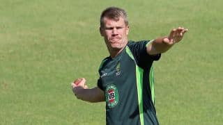 Warner speaks of his run out of Bell