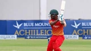 Zimbabwe Name Sean Williams and Chamu Chibhabha as New Test and Limited Overs Captains
