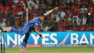 Mayank Agarwal out after bright start against Rajasthan Royals in Match 6 of IPL 2015