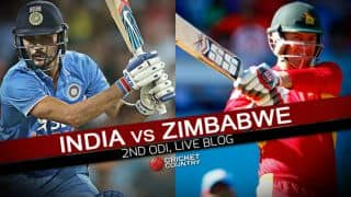 IND win by 8 wickets | Zimbabwe vs India 2016, Live Cricket Score, 2nd ODI at Harare: Get updates on live score and ball-by-ball commentary for IND's tour to ZIM
