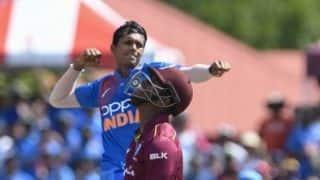 Navdeep Saini's consistency was the key to his impressive international debut: Bhuvneshwar Kumar