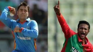 Rashid Khan, Shakib Al Hasan, Tamim Iqbal included in Eoin Morgan-led World XI's T20I tie vs West Indies