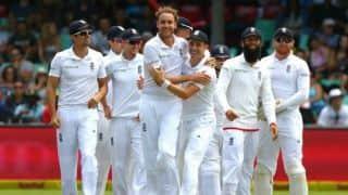 एंटीगुआ टेस्ट: स्टुअर्ट ब्रॉड की शानदार गेंदबाजी, 85 रन की बढ़त पर विंडीज