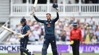 "Alex Hales still considers himself ""on the fringes of an England team"""