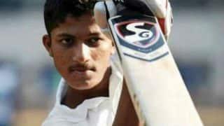 रणजी ट्रॉफी: शिवम दुबे का शतक, अरजान को पहली बार पारी में 5 विकेट