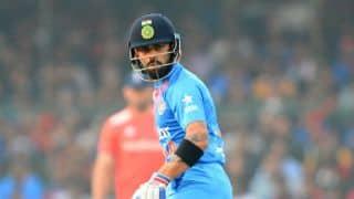 Virat Kohli: I have no urge to open, I play at No 3