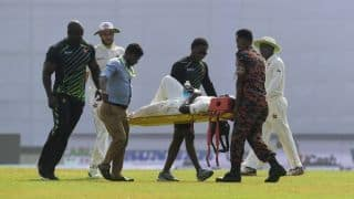 Zimbabwe's Tendai Chatara out of 2nd Test against Bangladesh with muscle strain