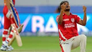 Kings XI Punjab (KXIP) vs Kolkata Knight Riders (KKR) Live Scorecard IPL 2014: Match 34 of IPL 7 at Cuttack