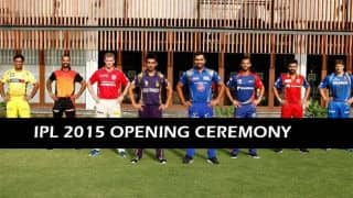 IPL 2015 Opening Ceremony Live Updates: Tournament officially comes alive