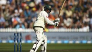 Usman Khawaja goes past 1,000 Test runs during New Zealand vs Australia 2015-16, 1st Test, Day 2