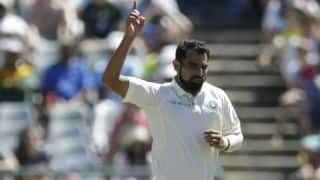 Mohammed Shami takes 100 Test scalps, equals Irfan Pathan