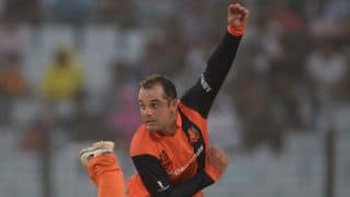 England vs Netherlands ICC World T20 2014 Group 1 Match 29: England collapse in modest chase