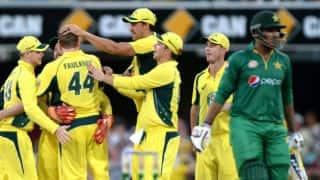 Australia thump Pakistan by 92 runs in 1st ODI at Brisbane, take 1-0 lead