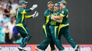 Australia showing good signs ahead of ICC World Cup 2015