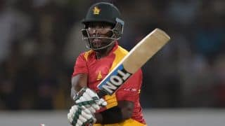 Elton Chigumbura scores 19th ODI half-century against Pakistan in 1st ODI at Lahore