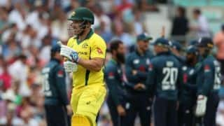 Aaron Finch takes 'full responsibility' of not taking Australia's score to 330-340 against England