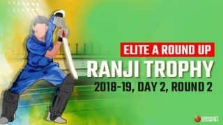 Ranji Trophy 2018-19: Dhruv Raval's maiden first-class century leads Gujarat to huge first-innings total against Chhattisgarh