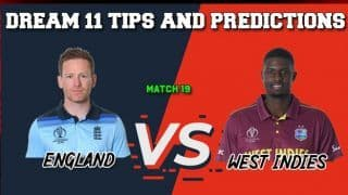 ENG vs WI Dream11 Prediction LIVE: Best Playing XI Players to Pick for Today's Match between England and West Indies at 3 PM