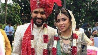 PHOTOS: Rohit Sharma-Ritika Sajdeh wedding ceremony