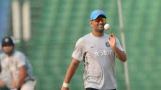 India vs Sri Lanka: MS Dhoni sweat it out in nets before 3rd ODI, See video