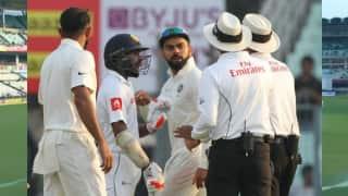 India vs Sri Lanka, 1st test: Niroshan Dickwella's antics annoy Mohammed Shami, Virat Kohli, Watch video
