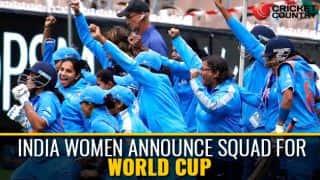 Mithali to lead India Women in ICC Women's World Cup 2017; Smriti returns